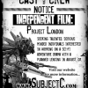 Now Casting for Project London!